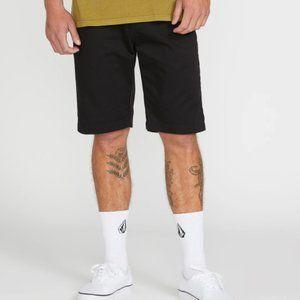 Volcom Vmonty Shorts Black sz 40